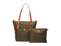 Bric's Milano X Bag Sportina Small Shopper Olive Tote Handbags
