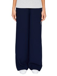 Ted Baker Says Relax Yuli Grosgrain Wide Leg Trousers Navy
