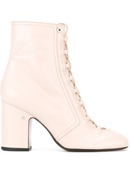 Laurence Dacade 'Milly' Ankle Boots Nude And Neutrals