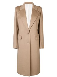 Joseph Single Breasted Trench Coat Nude And Neutrals