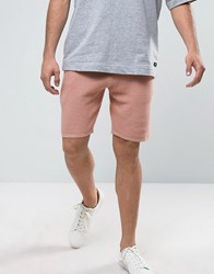 Asos Knitted Shorts With Waffle Texture Pink