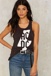 Chaser Acdc Bolt Tank Gray