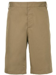 Lanvin Casual Chino Shorts Nude And Neutrals