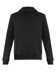 Fanmail Hooded Cotton Jersey Sweatshirt Black