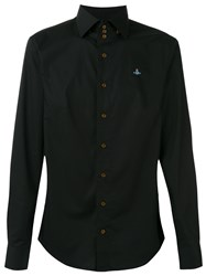 Vivienne Westwood Man High Neck Shirt Black