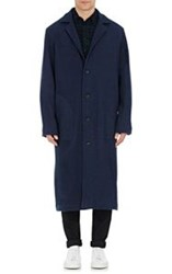 Simon Miller Hughes Long Coat Blue Size 2 4 Us