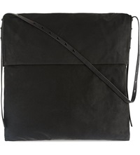 Rick Owens Sphinx Slouchy Hobo Bag Black