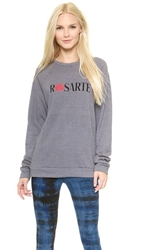 Rodarte Rosarte Sweatshirt Grey Black