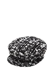 Eugenia Kim Marina Boucle Hat W Silver Chain Array 0X596d118