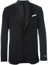 Neil Barrett Piercing Detail Blazer Black
