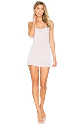 Only Hearts Club Tulle With Lace Chemise White