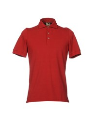 H953 Polo Shirts Brick Red