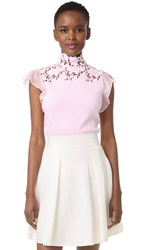 Giambattista Valli Sleeveless Top Light Pink