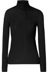 Gold Sign Goldsign The Rib Stretch Jersey Turtleneck Sweater Midnight Blue