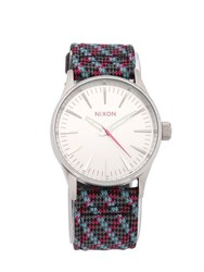 Nixon The Sentry 38 Leather Watch