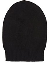 Rick Owens Men's Fine Gauge Knit Skull Cap Black