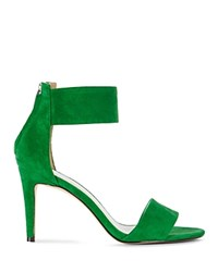 Karen Millen Ankle Cuff High Heel Sandals Green