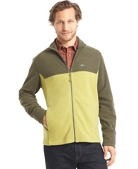 G.H. Bass And Co. Full Zip Fleece Jacket Forest Night