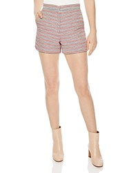 Sandro Odette Textured Shorts