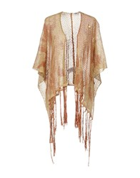 Angela Mele Milano Capes And Ponchos Sand