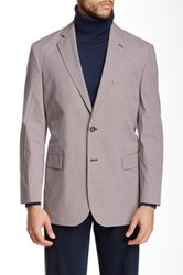 Brooks Brothers Madison Fit Two Button Notch Lapel Jacket Red