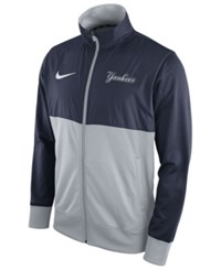 Nike Men's New York Yankees Track Jacket 1.7 Navy Gray