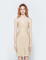 Organic By John Patrick Short Bias Slip In Nude