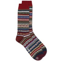 Chup By Glen Clyde Company Lampaat Sock Red