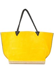 Altuzarra 'Espadrille' Tote Small Yellow