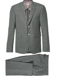 Thom Browne Formal Suit Grey