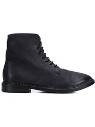 Marsa Ll Lace Up Boots Black