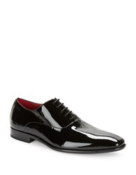 Hugo Boss Patent Leather Oxfords Black
