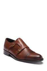 To Boot Godfrey Double Monk Strap Strap Loafer Whiskey