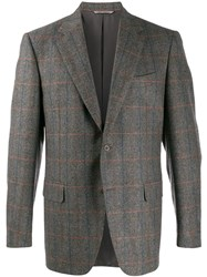 Canali Fitted Single Breasted Blazer 60