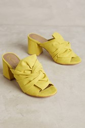 Anthropologie Lien. Do By Seychelles Palma Mules Yellow