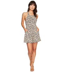 Volcom Solo Trip Romper Black Combo Women's Jumpsuit And Rompers One Piece