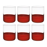 Bitossi Home Spot Tumblers Set Of 6 Red