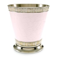 Julia Knight Classic Waste Paper Basket Pink Ice