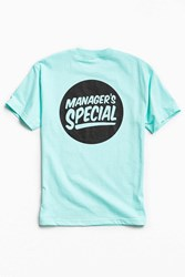 Manager's Special Logo Tee Mint