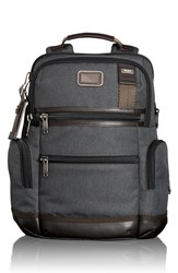 Men's Tumi 'Alpha Bravo Knox' Backpack Grey Anthracite