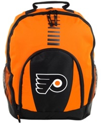 Forever Collectibles Philadelphia Flyers Prime Time Backpack Orange
