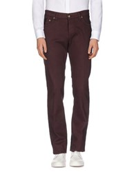 Jomud Collection Barba Napoli Trousers Casual Trousers Men Maroon