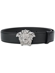 Versace Medusa Logo Belt Brown