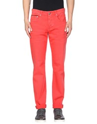 Stitch's Jeans Casual Pants Red