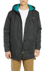 Obey Singford Insulated Parka Black
