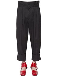 J.W.Anderson Baggy Pleated Light Gabardine Pants