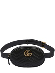 Gucci Gg Marmont 2.0 Leather Belt Pack Black