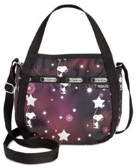 Le Sport Sac Lesportsac Peanuts Collection Small Jenni Crossbody Snoopy In The Stars