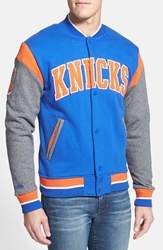 Mitchell And Ness 'Knicks Role Player' Tailored Fit Fleece Royal Blue