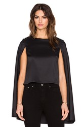 Lavish Alice Cape Top Black